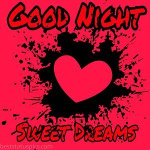 good night beautiful heart images