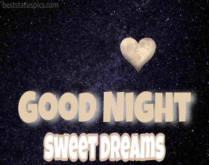 good night heart photo