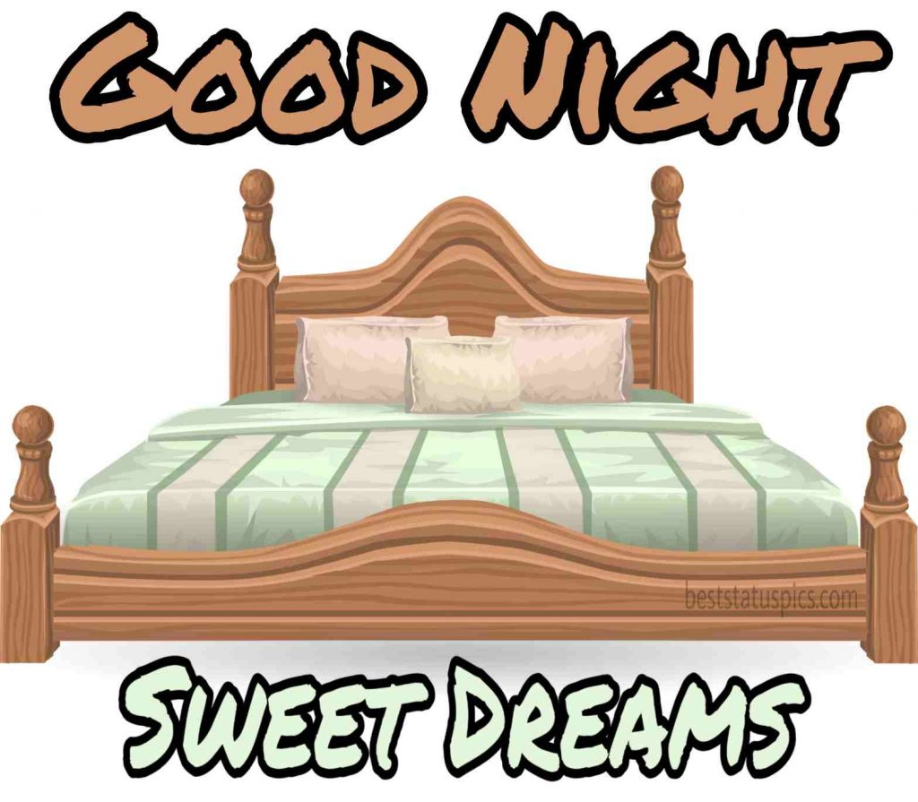 good night in bed images