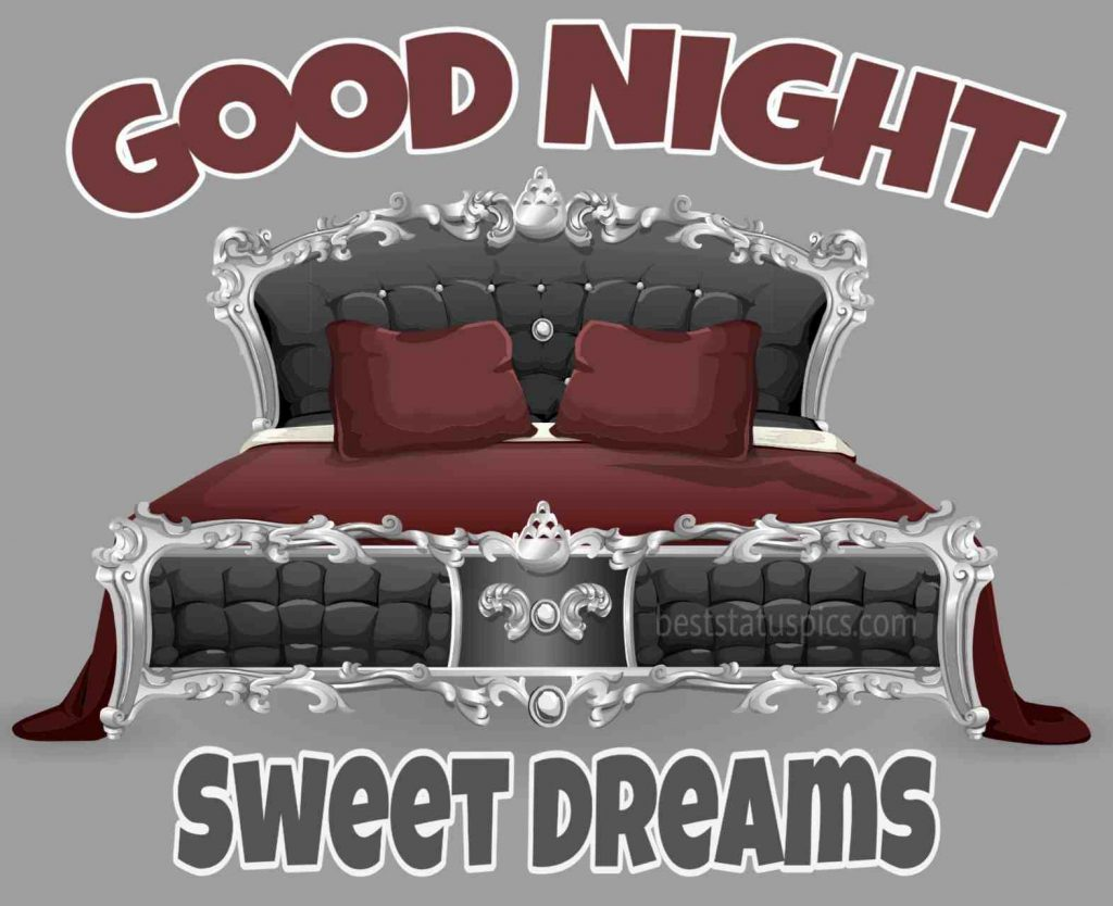 good night sweet dreams on bed images
