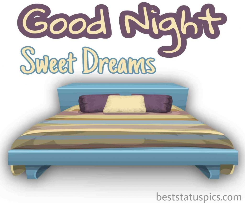 good night bed pic