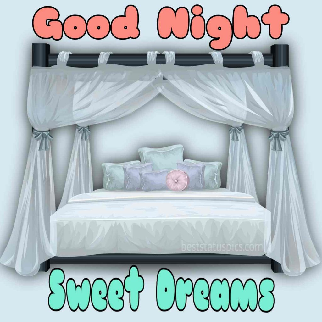 good night bed images download