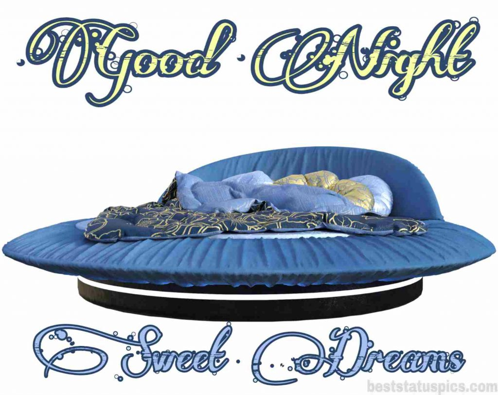 good night beautiful bed images