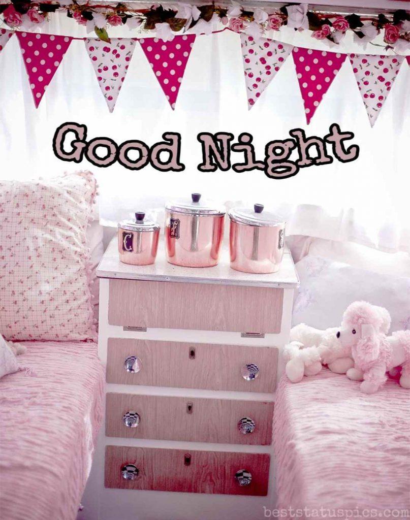 good night bed photo