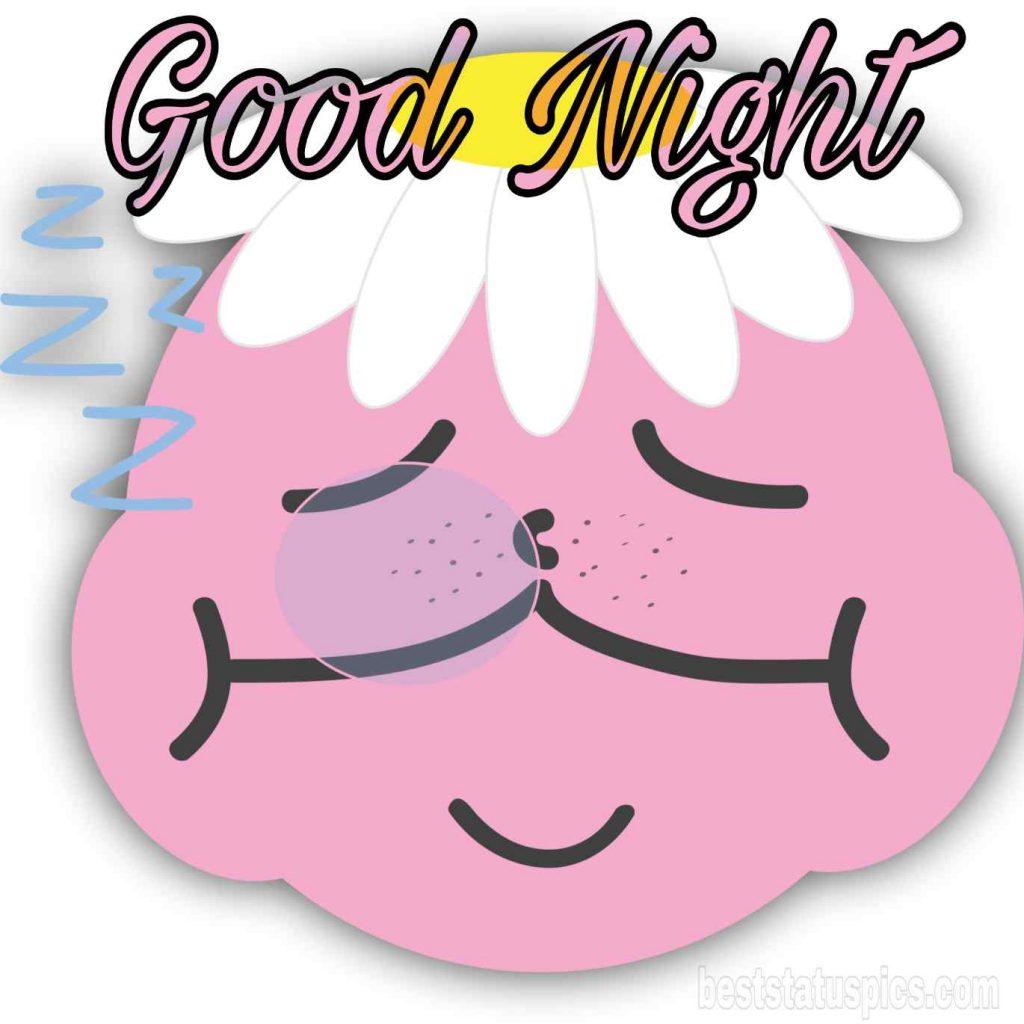 good night cartoon funny pic