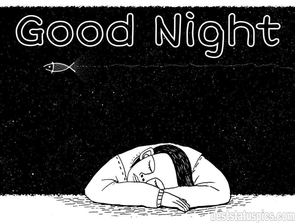 good night sleep cartoon pic