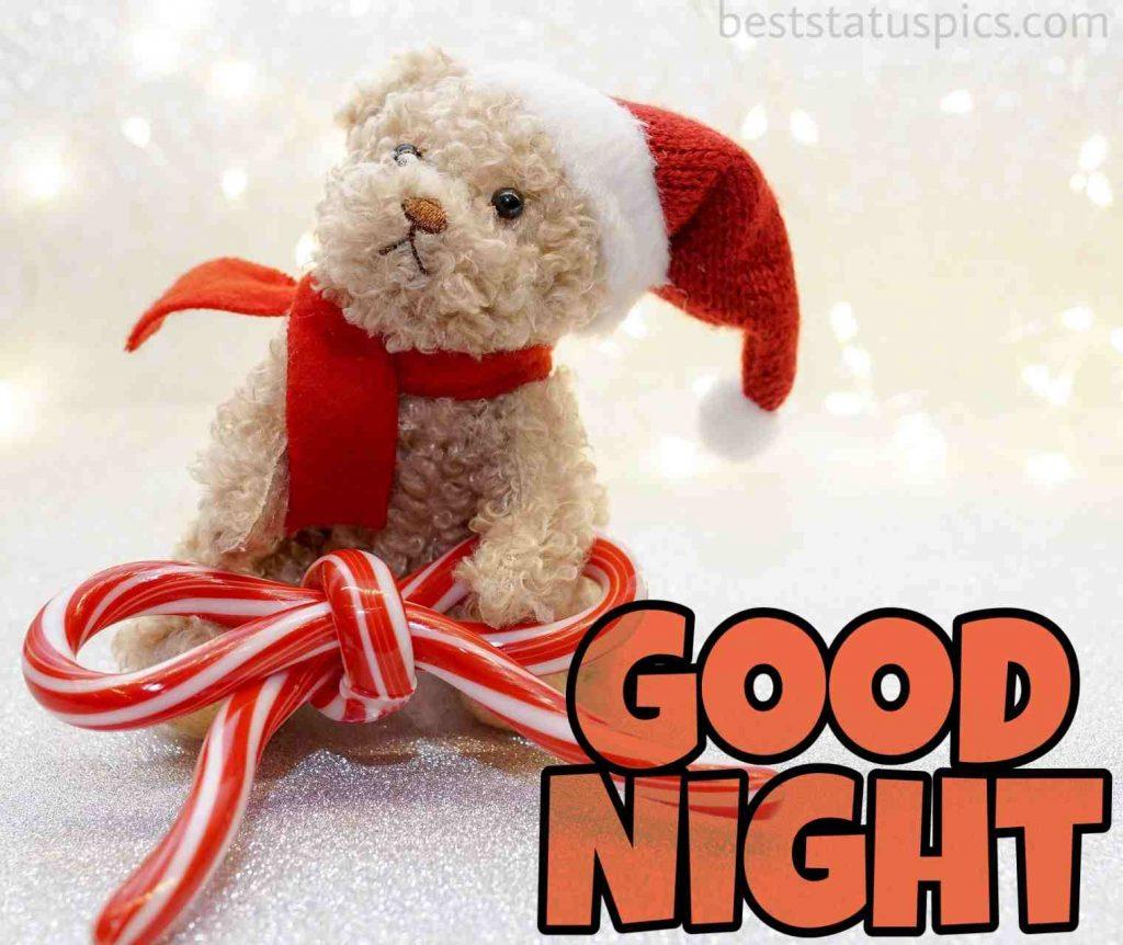 good night teddy images hd