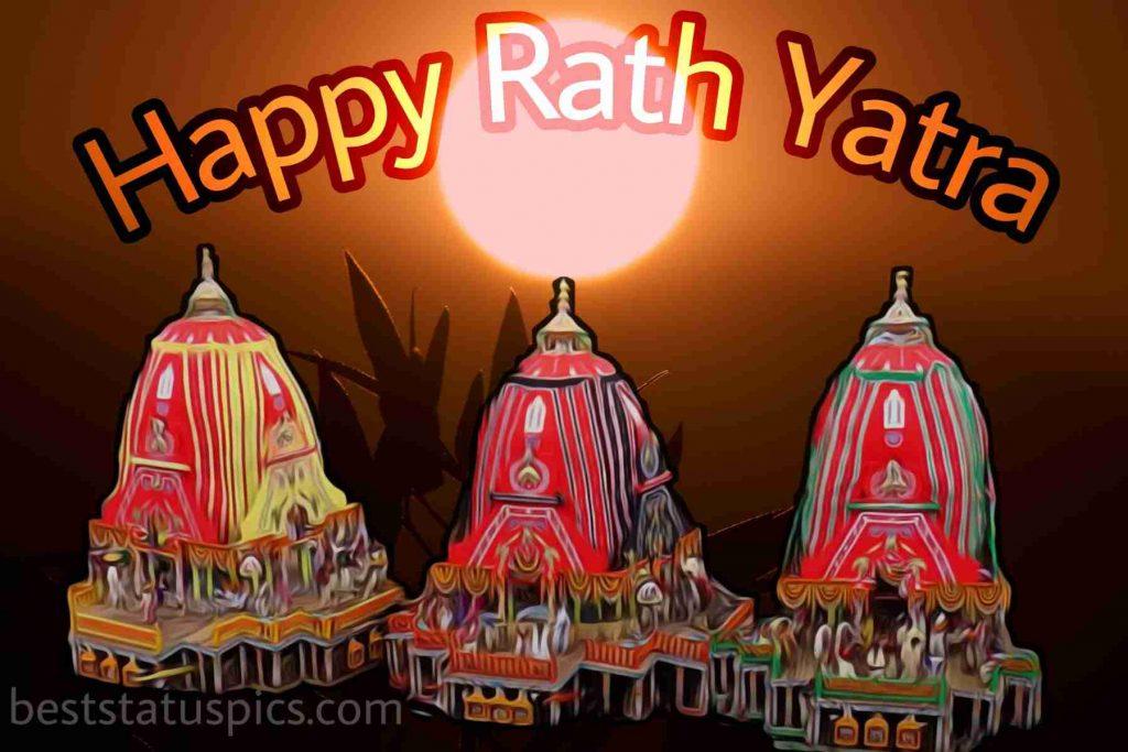 happy rath yatra 2020 hd image