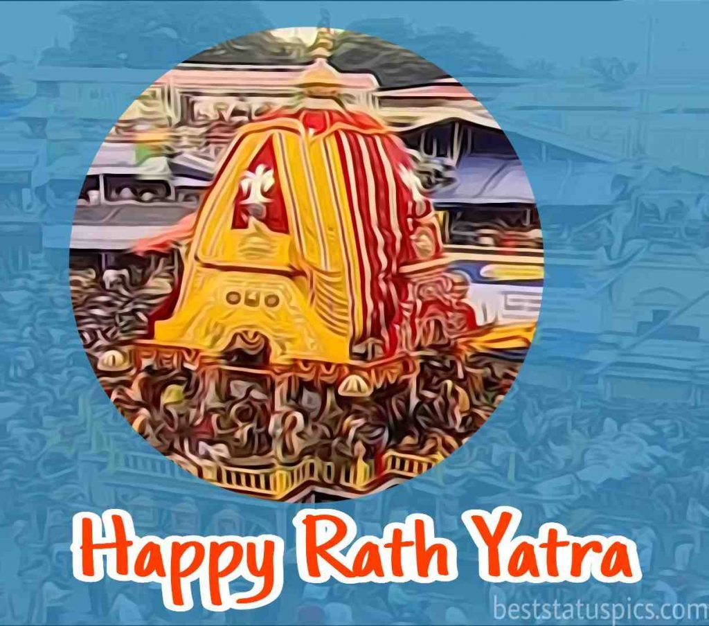 happy jagannath rath yatra 2020 photo for friends