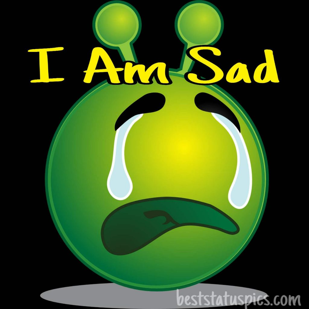i am so sad dp images photo