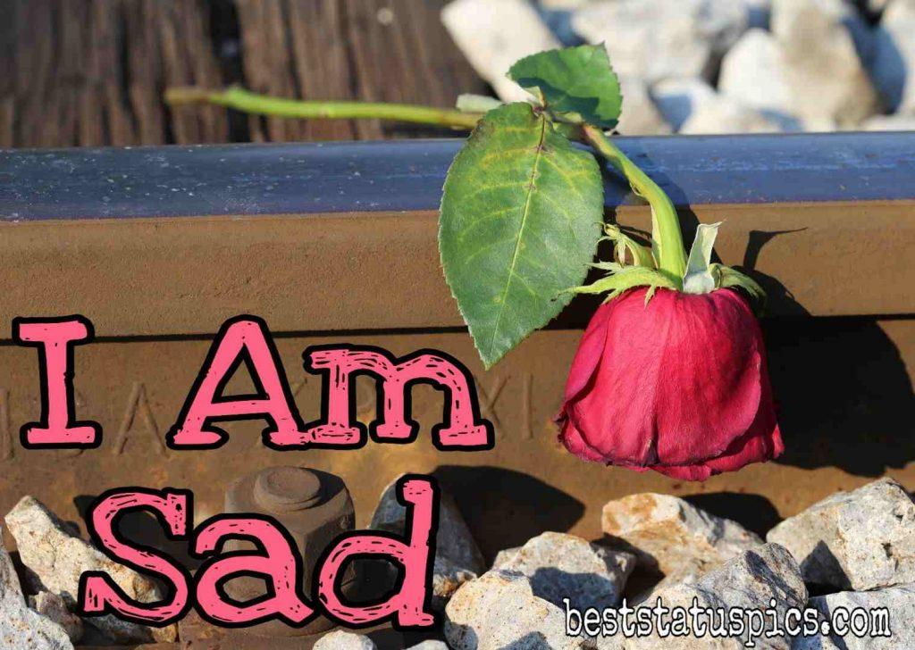 i am sad dp for whatsapp status