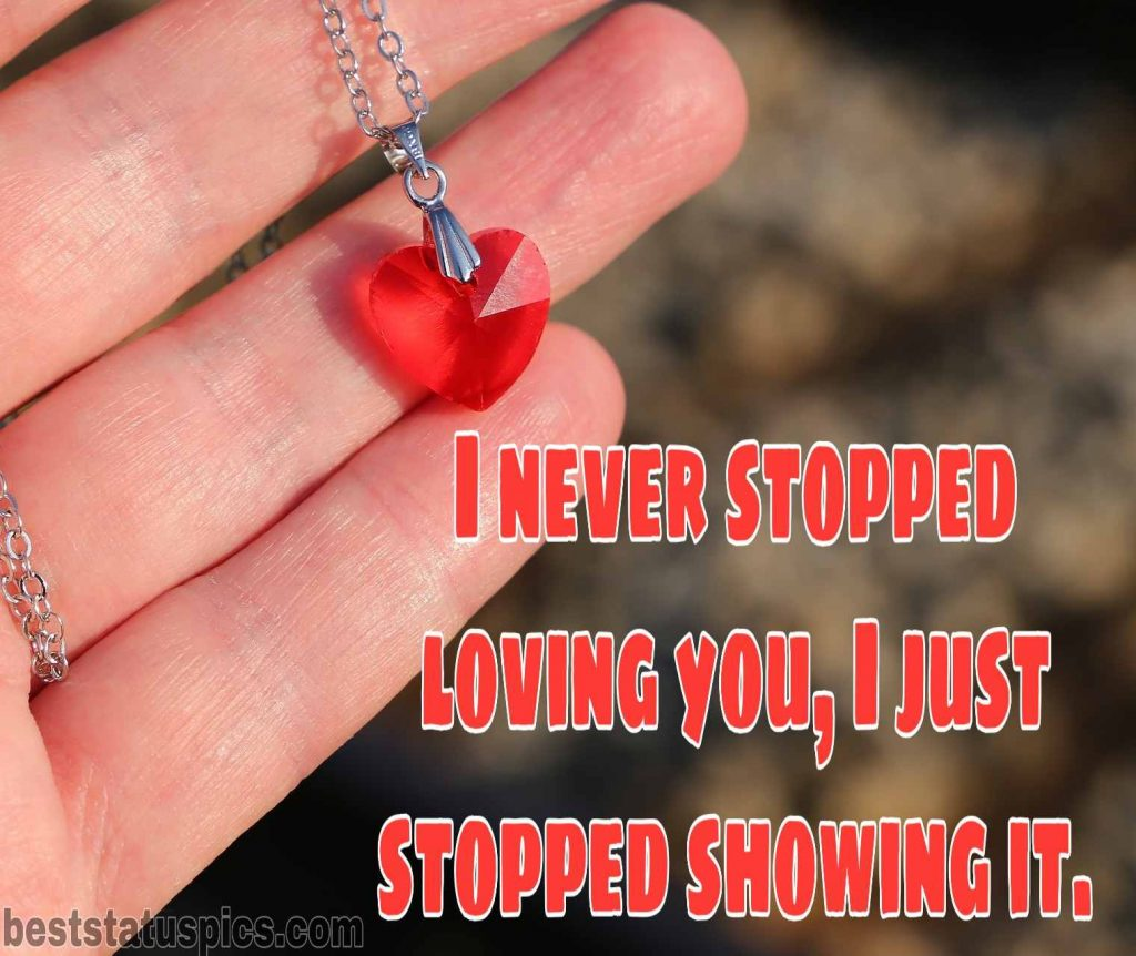 sad love images with quotes status dp