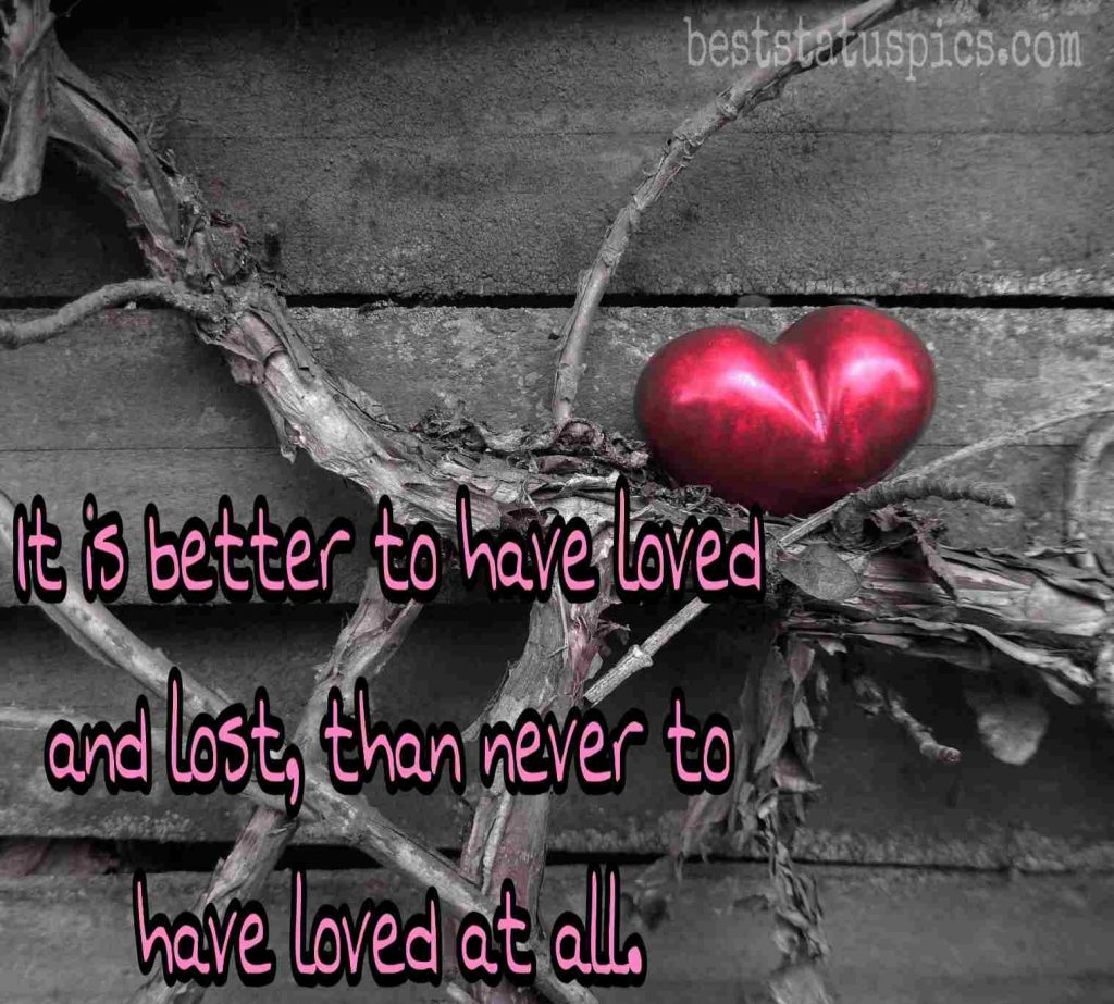 sad love dp for whatsapp status quotes