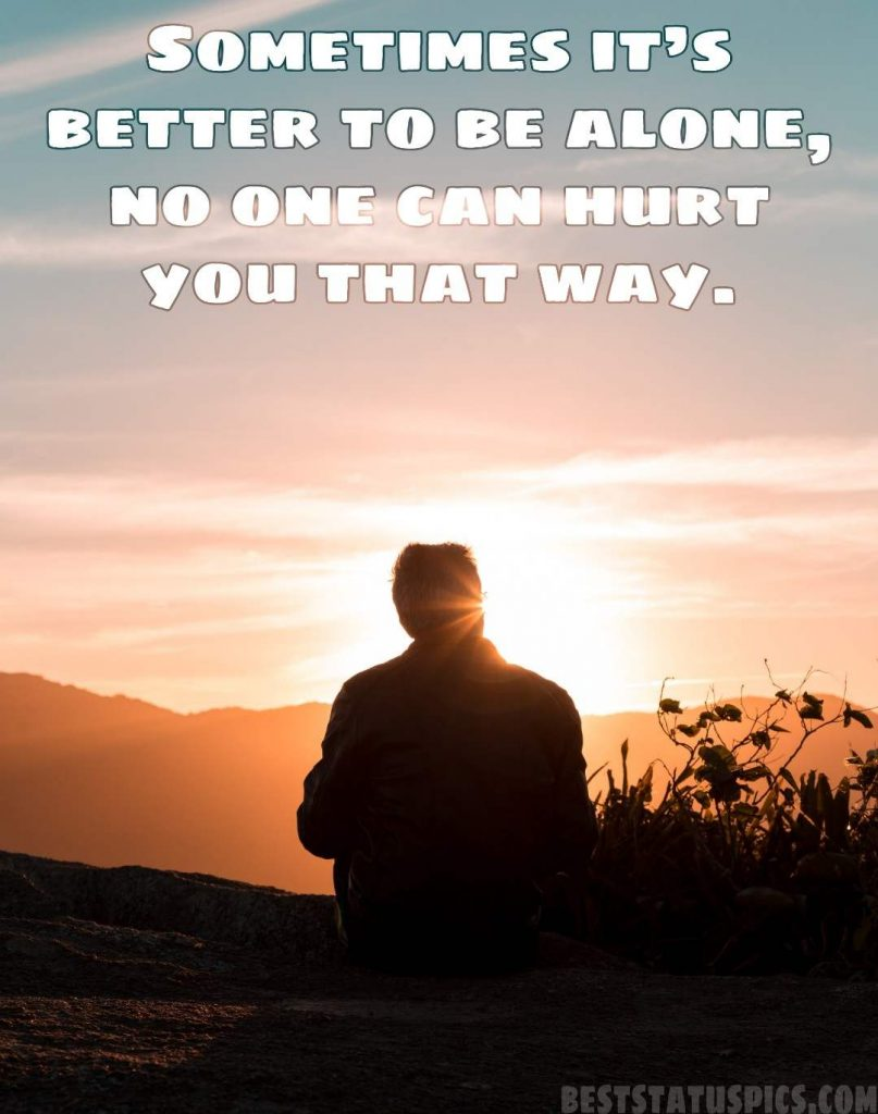 alone boy whatsapp wallpaper with quotes