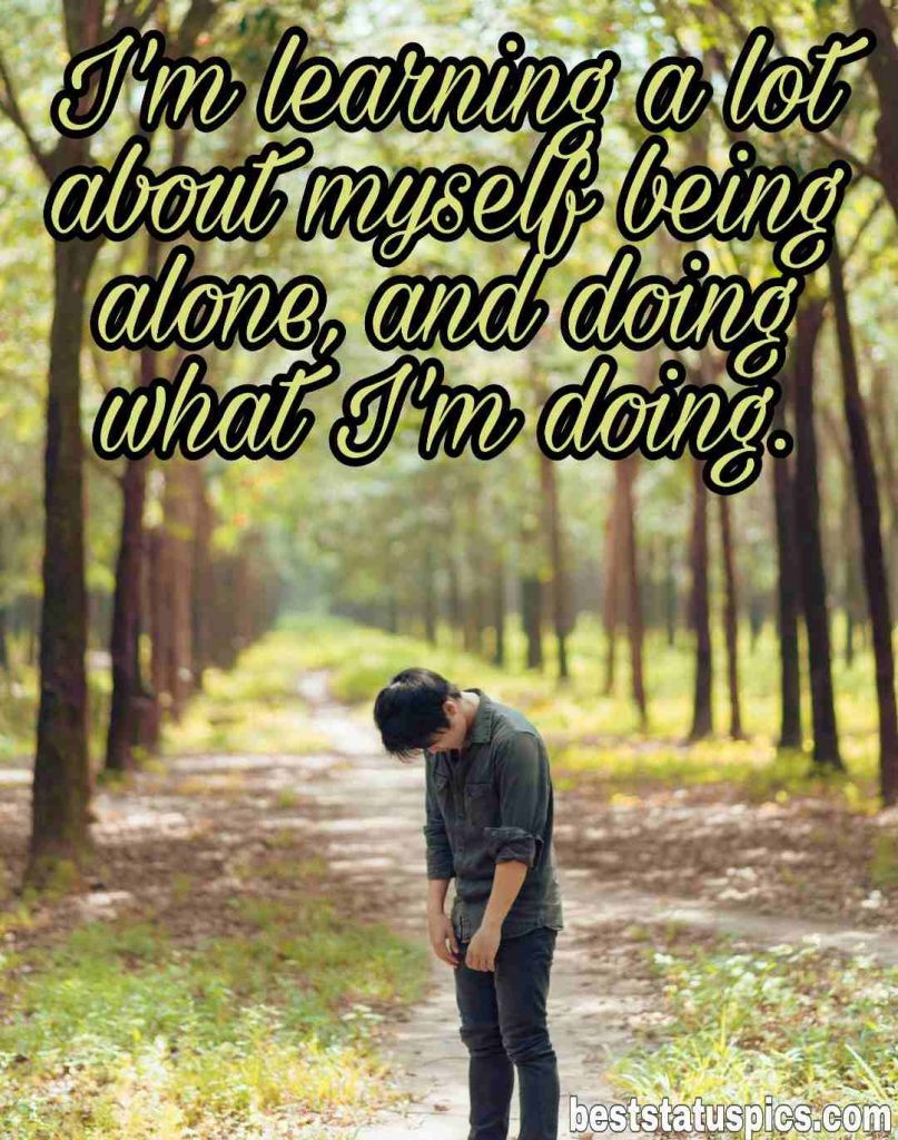 sad and alone boy pic hd quotes