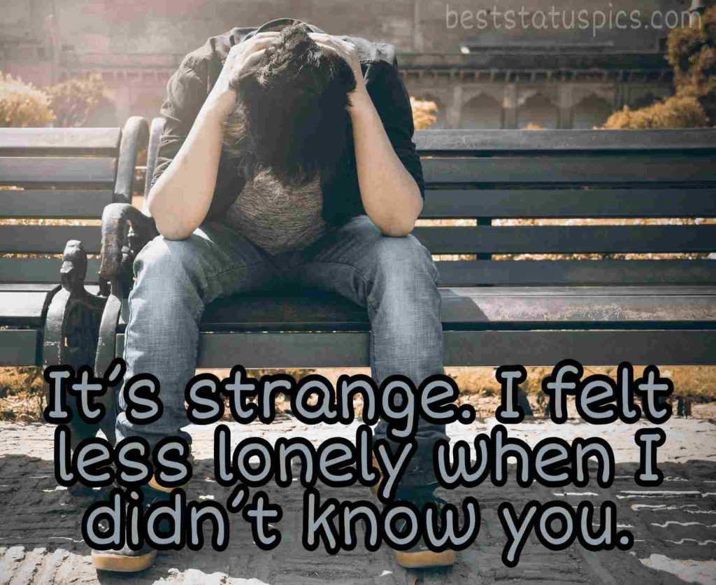 love sad alone boy images quotes