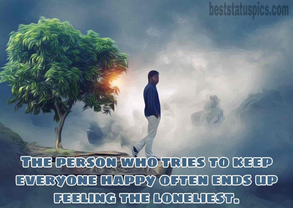 sad alone boy dp quotes images hd