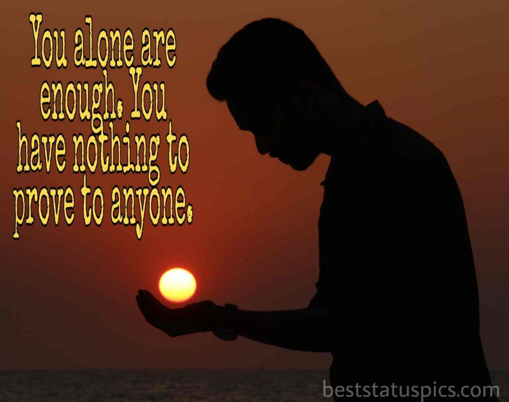 sad alone boy dp status quotes images