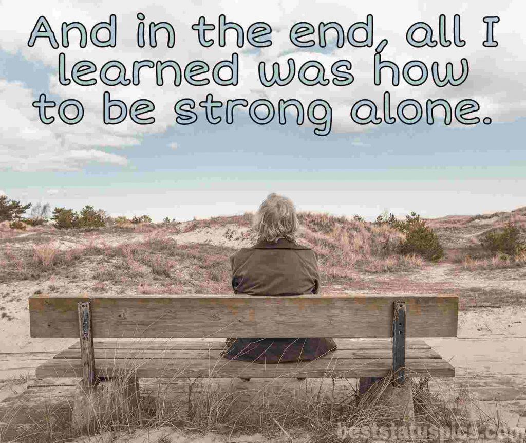 sad alone boy dp images quotes