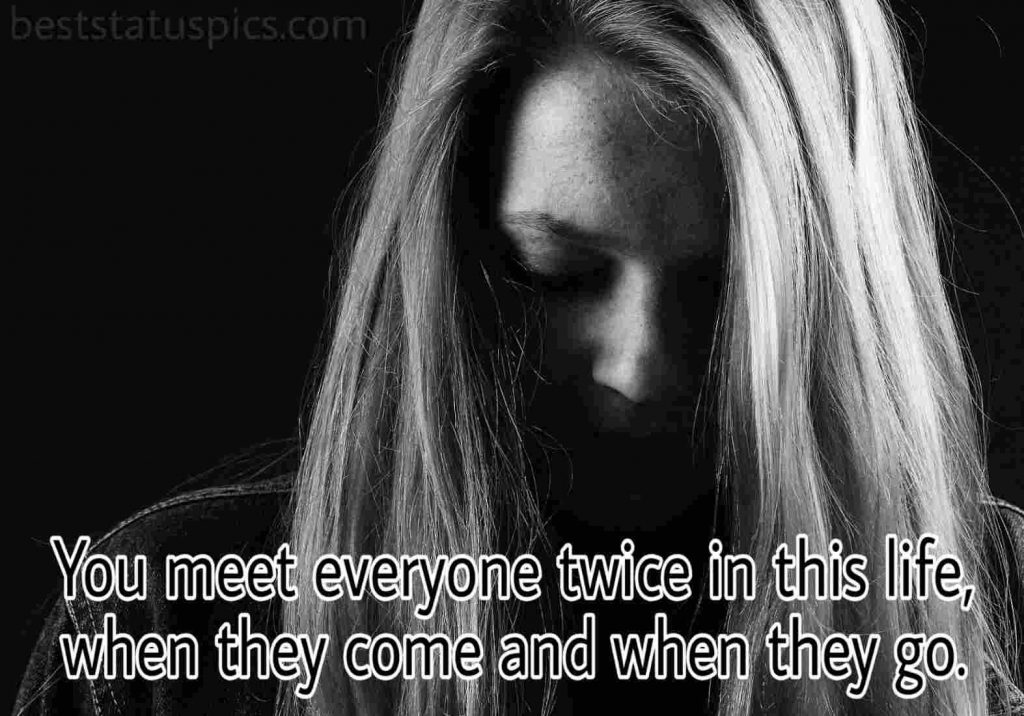 Deep sad quotes for alone girl with pics