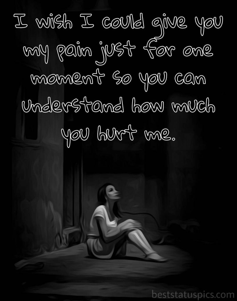 pics of sad girl sitting alone with quotes