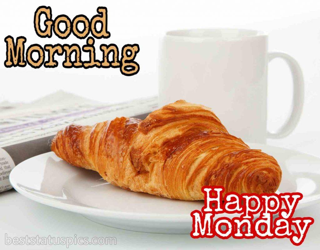 good morning happy monday wishes image
