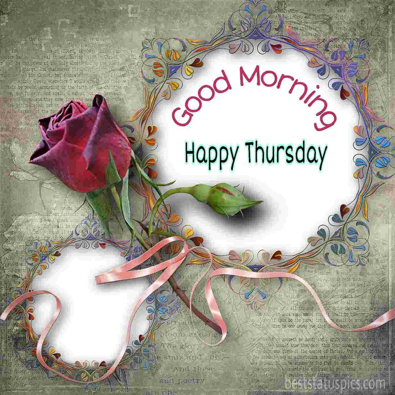 33+ Good Morning Happy Thursday Images, Wishes, Quotes - Best Status Pics
