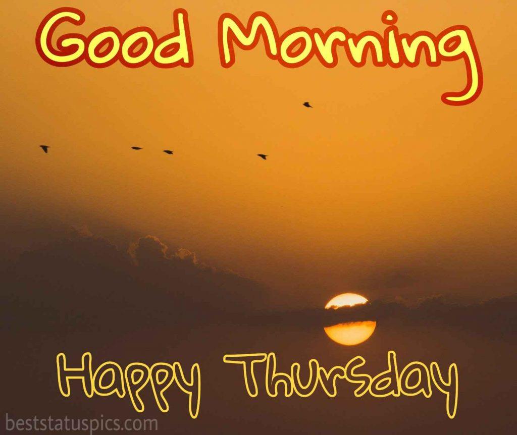 good morning happy thursday nature wallpaper HD 2020