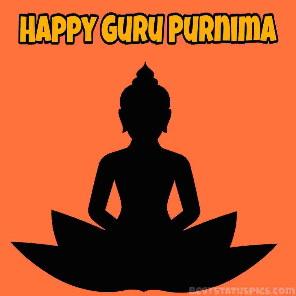 happy guru purnima 2021 greeting card