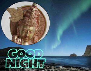 good night jai shree krishna image HD
