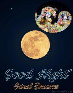 good night radha krishna wallpaper HD for Whatsapp Profile