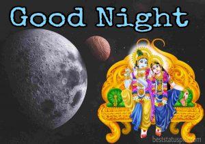 good night radha krishna hd love image for whatsapp DP