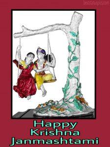 best happy janmashtami 2020 images with radha krishna for whatsapp dp and whatsapp status
