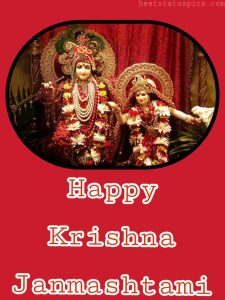 happy krishna janmashtami 2020 new image with rahdha and lord krishna for facebook status