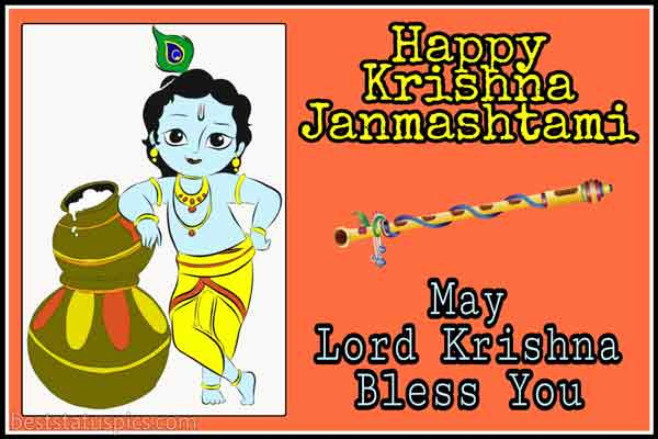 Happy Krishna Janmashtami 2020 Wishes Images, Pics and Photos