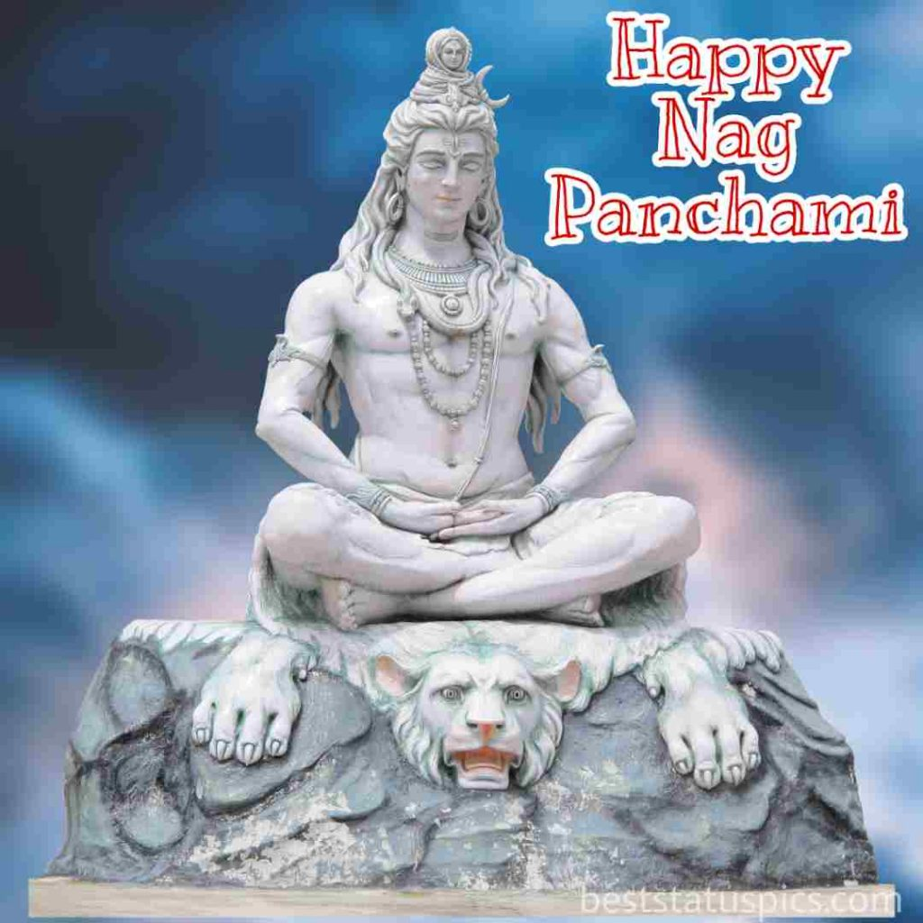 happy nag panchami 2021 status for whatsapp DP HD with lord mahadev shiva