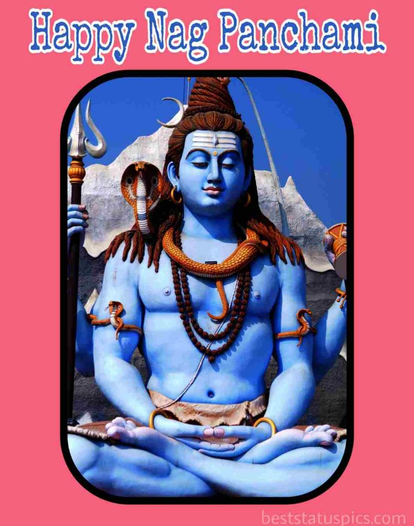 happy nag panchami 2021 with lord shiva pic, quotes, status, sms, message