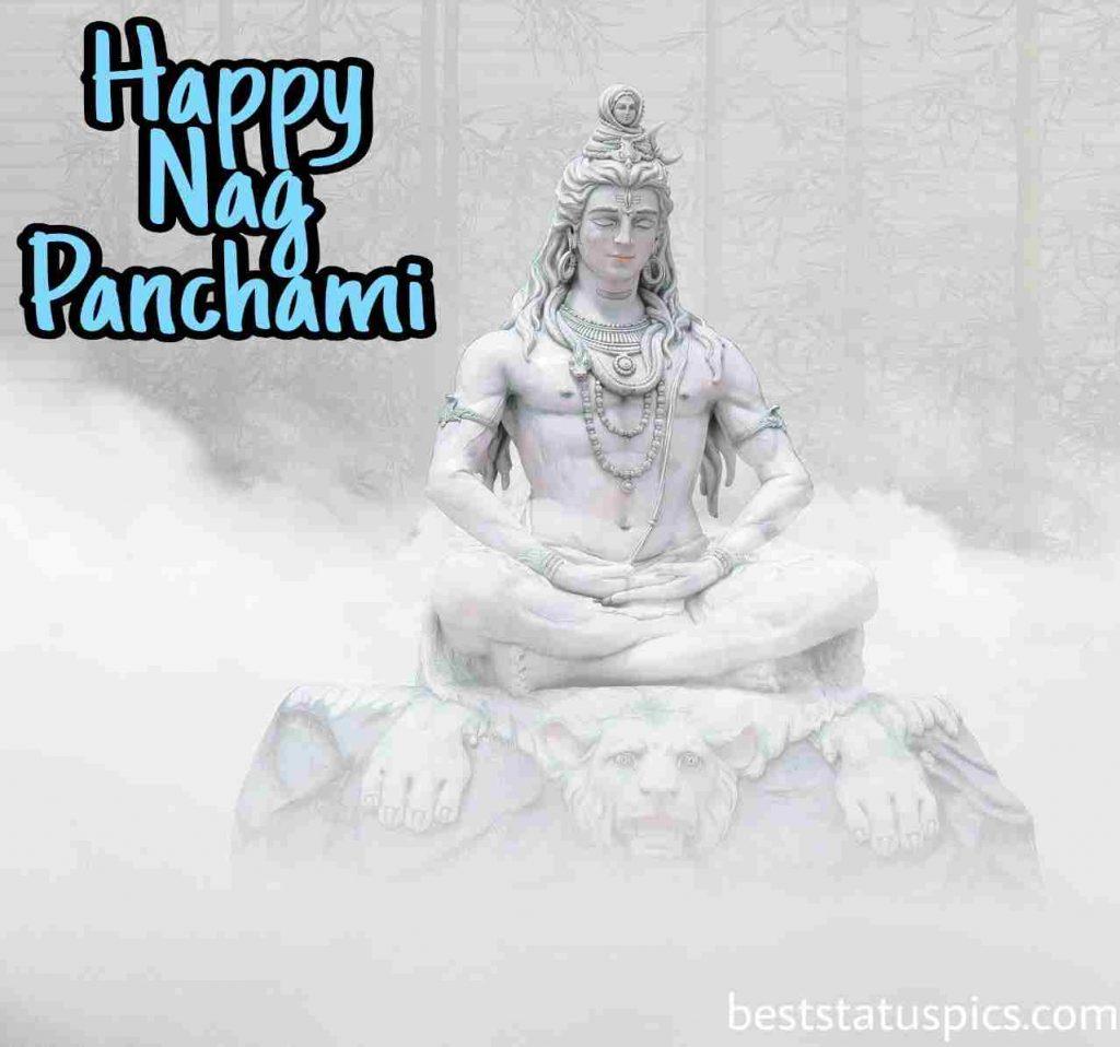 happy nag panchami 2021 image download with lord mahadev