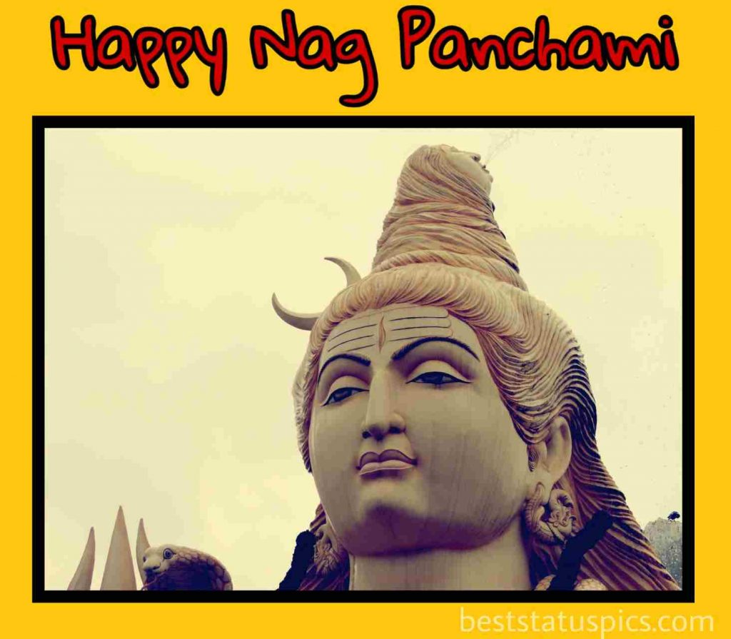 happy nag panchami 2021 images HD with lord shiva