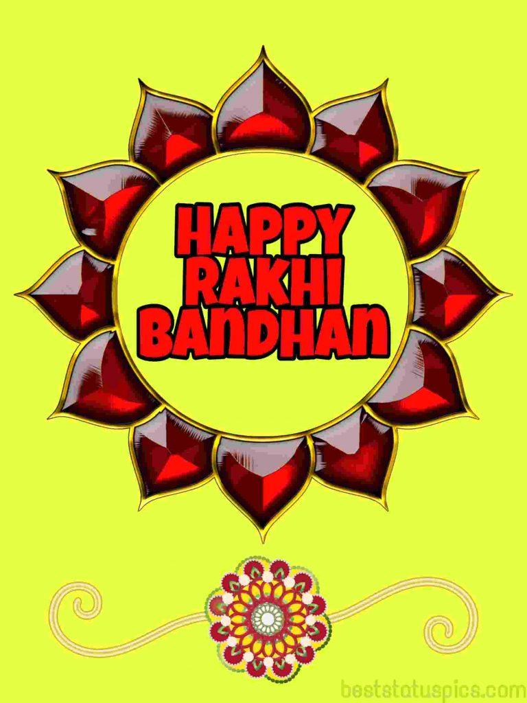 happy rakhi bandhan 2020 photo wishes hd for Whatsapp status