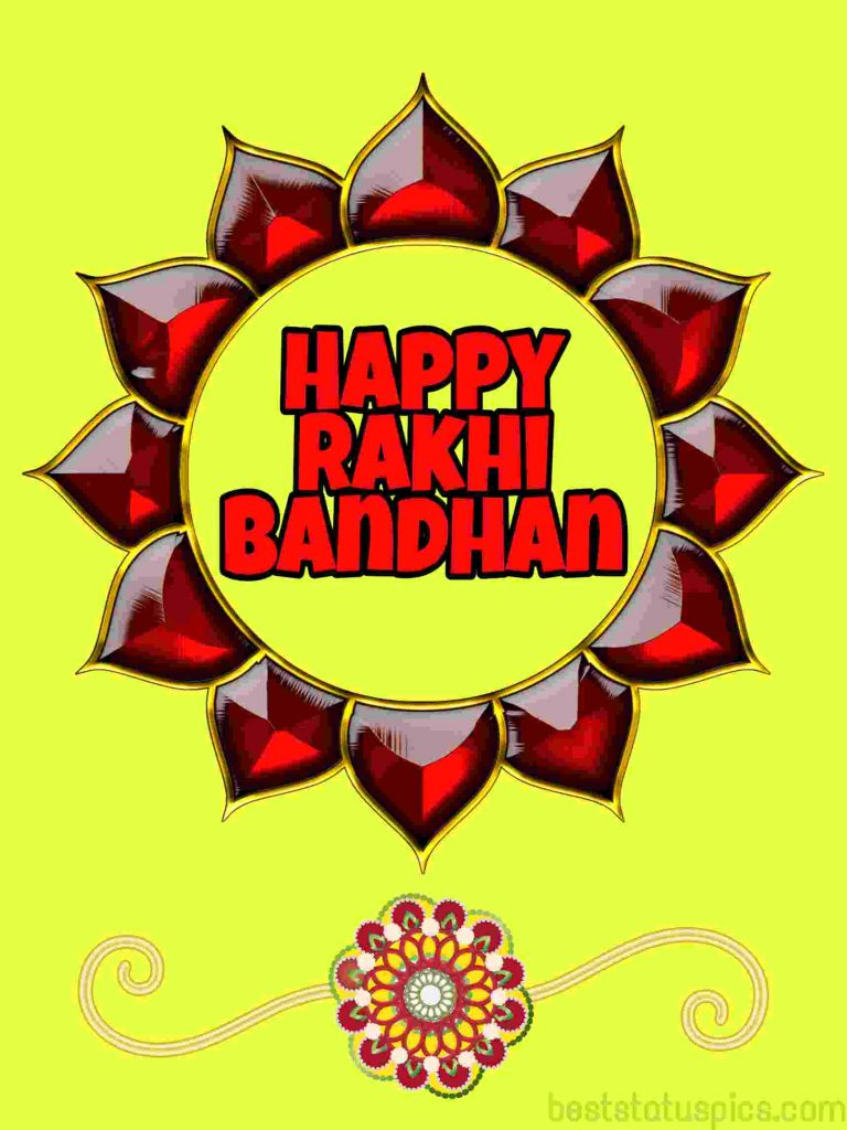 happy rakhi bandhan 2020 photo wishes hd for Whatsapp status