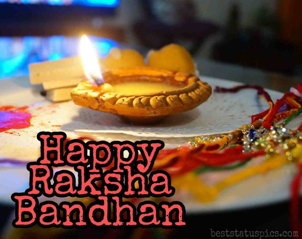 happy raksha bandhan 2020 brother pic with rakhi for Whatsapp DP