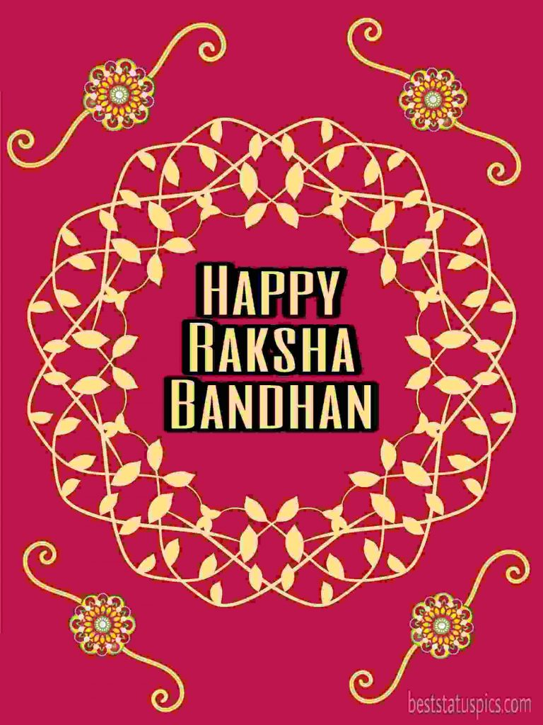 happy raksha bandhan 2020 day photo with rakhi for WhatsApp Status, DP