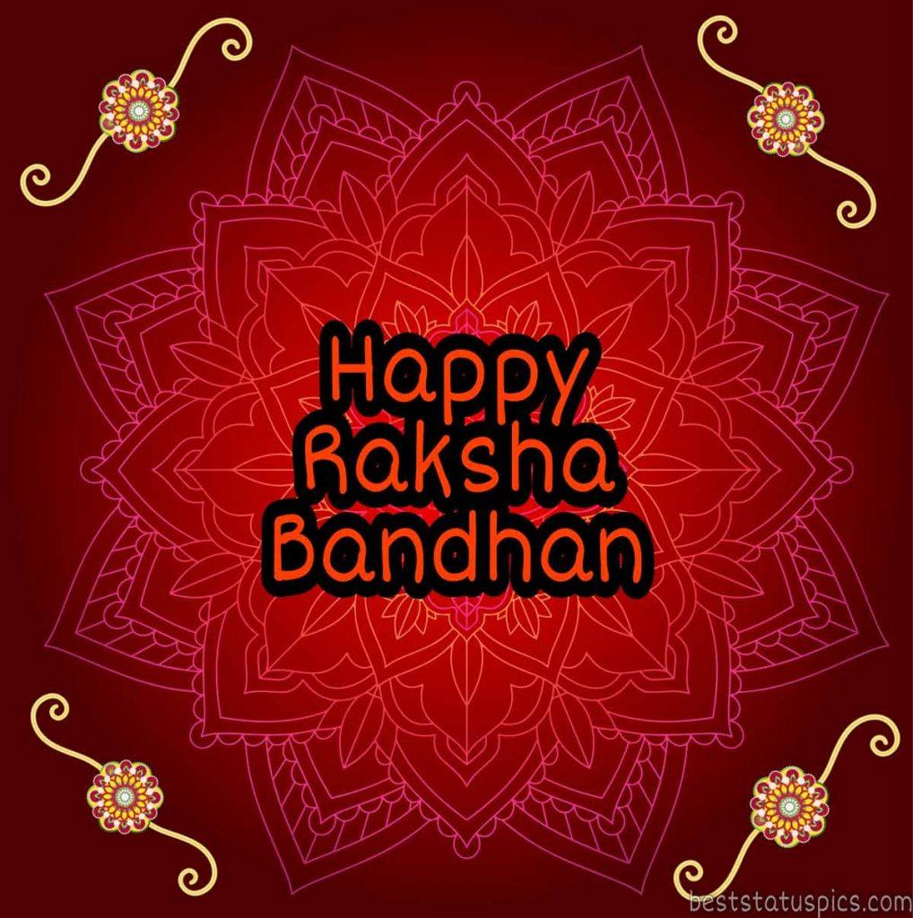 happy raksha bandhan 2020 image with rakhi, status, quote download
