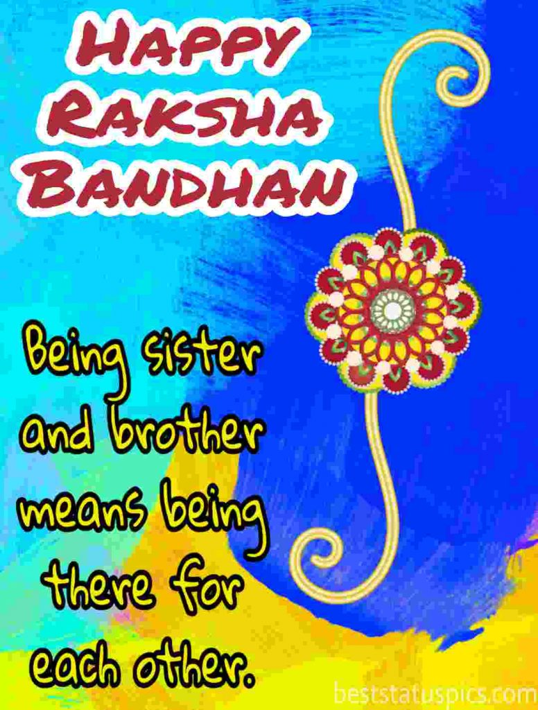 happy raksha bandhan 2020 quotes, status, photo, image for brother and sister