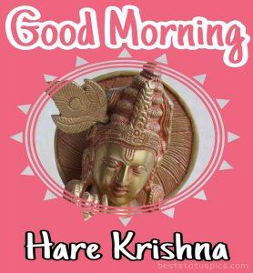 hare krishna good morning message pic