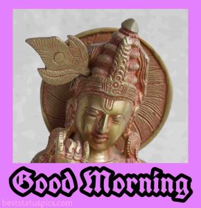 good morning images of god krishna