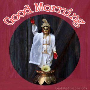 krishna ji good morning images