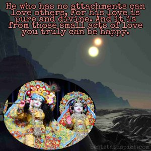 krishna love quotes english for Whatsapp profile status
