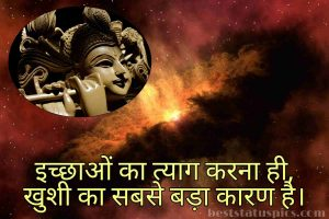 lord krishna quotes image in hindi